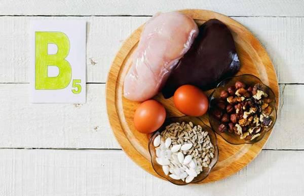 ویتامین B5 برای ریزش مو