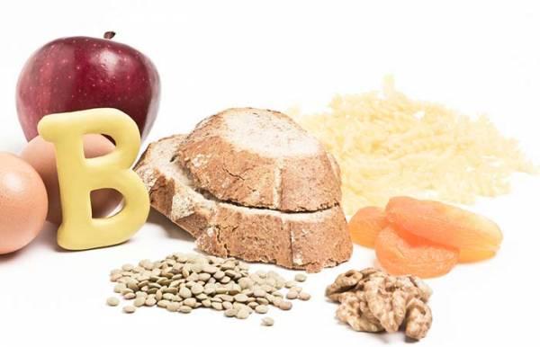ویتامین ب 2 برای کنترل ریزش مو
