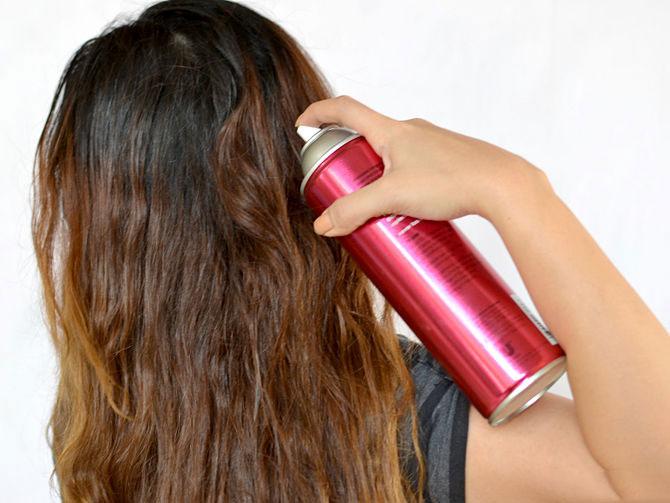 اسپری مو و عوارض آن بر سلامتی