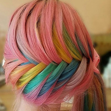 رنگهای فانتزی چه مدت بر روی موها دوام می آورند